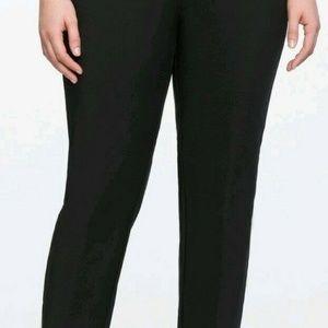Eloquii Pants - Eloquii Size 22R Black Kady Pant.  Pre-Owned